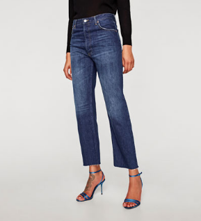 Zara's New Real Straight in Samurai Wash