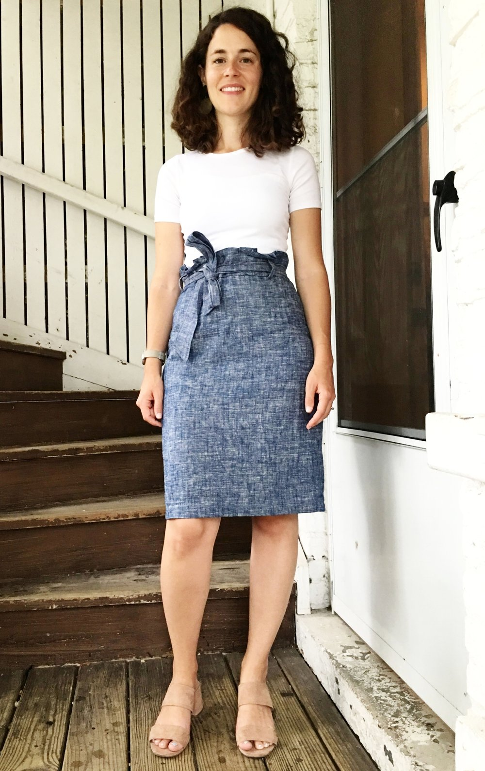 This skirt is discontinued from Ann Taylor, boo.