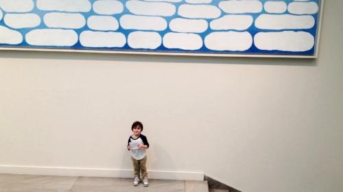 Teddy, age 3, Art Institute
