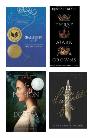 Jessie's YA recommendations