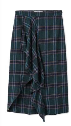 Mango Ruffled Skirt