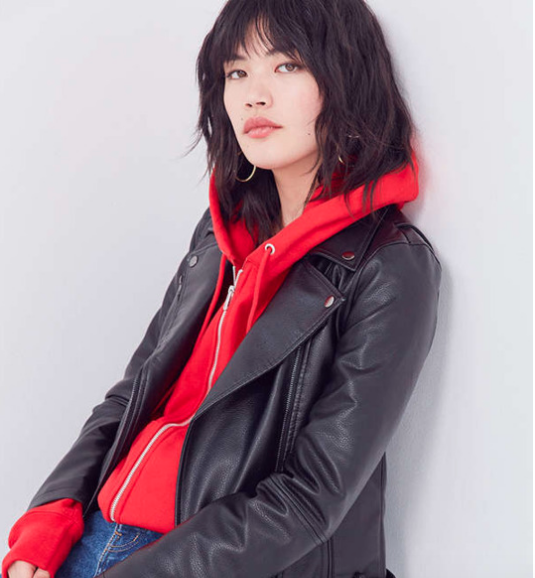 BDG Faux Leather Moto Jacket$119, Urban Outfitters
