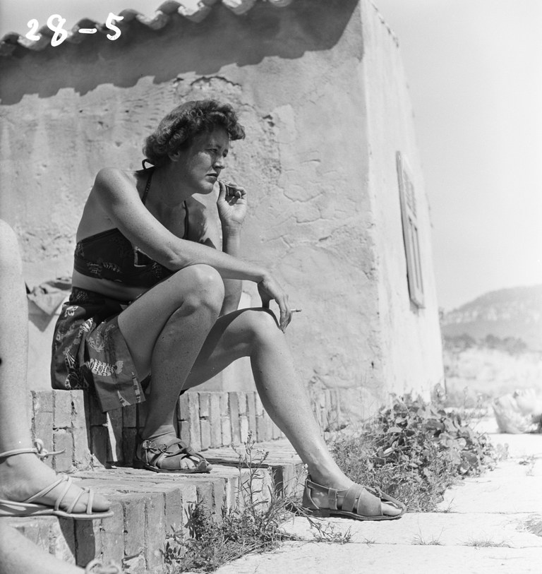 Look at Julia Child being such a badass babe!  Preview more awesome pics  here .