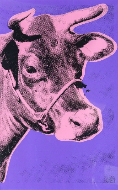 Andy Warhol, Cow, 1977.
