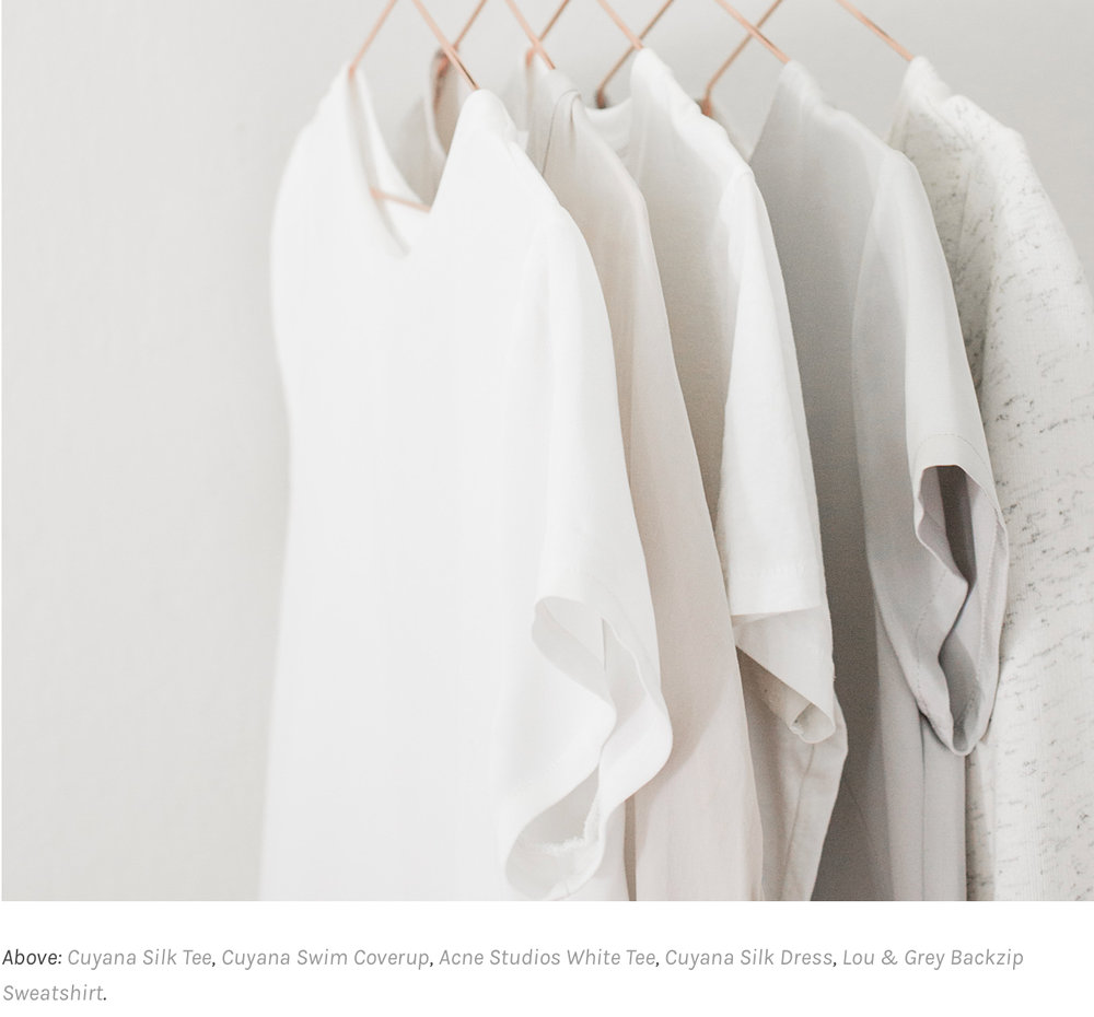 From Tips for building your capsule wardrobe