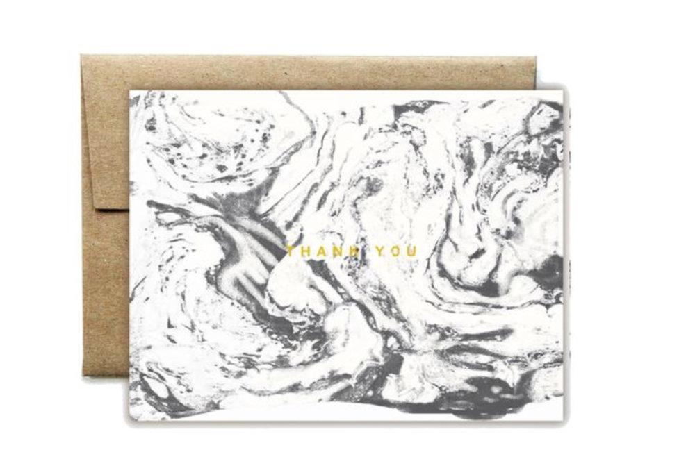 Classy- Foil Carrara White Boxed Set/ Ferme a Papier