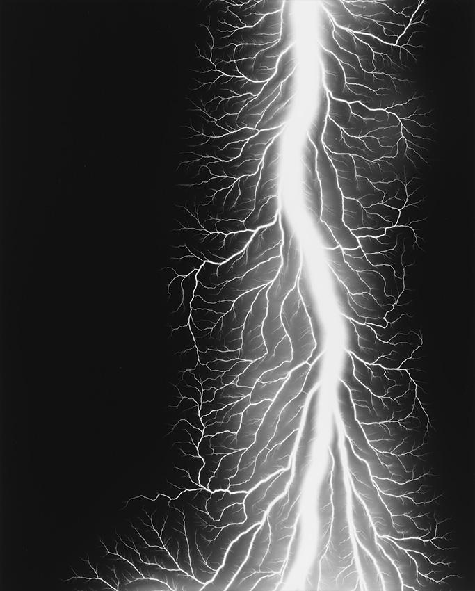 Hiroshi Sugimoto, from Lightning Fields 327, 2014
