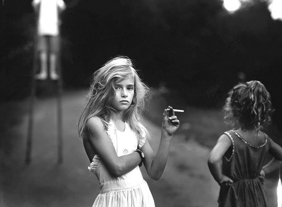 Sally Mann, Candy Cigarette, from Immediate Family, 1985