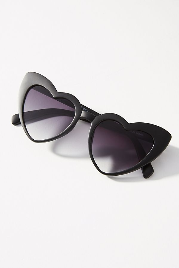 Anthropologie Heart Sunglasses