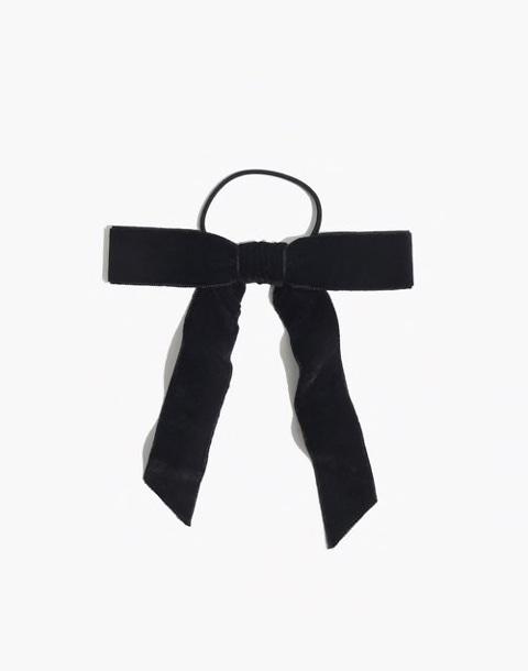 Madewell Black Bow