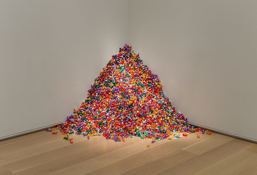 """Untitled"" (Portrait of Ross in L.A.), 1991. Felix Gonzalez-Torres, American, born Cuba, 1957–1996"