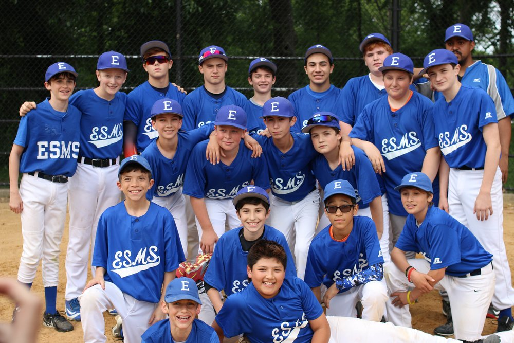 East Side Middle School Baseball Champs