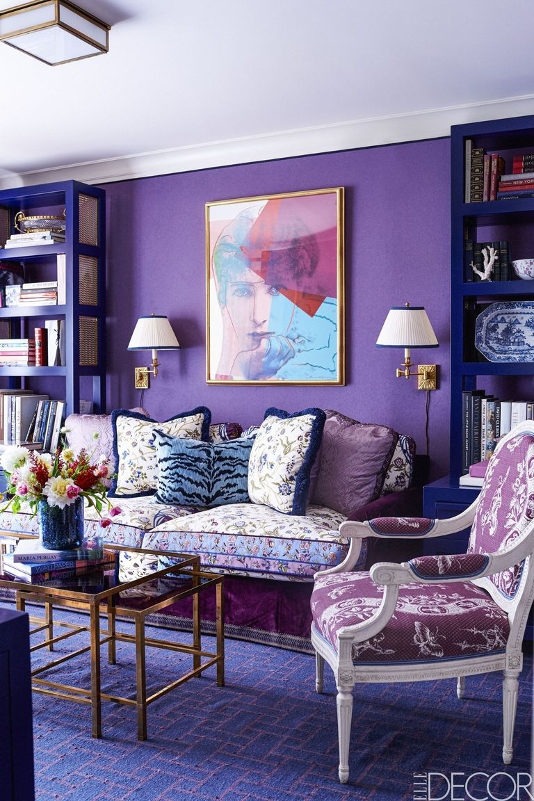 Enigmatic Purples - Pantone's Color of the Year for 2018 is Ultra Violet, a rich shade of purple that's sure to add depth to any space. Ultra Violet represents mystery, intrigue, and innovation. Whether you choose to utilize this blue-based purple as a base or accent color, Ultra Violet will both inspire and evoke the feeling of looking towards the future.