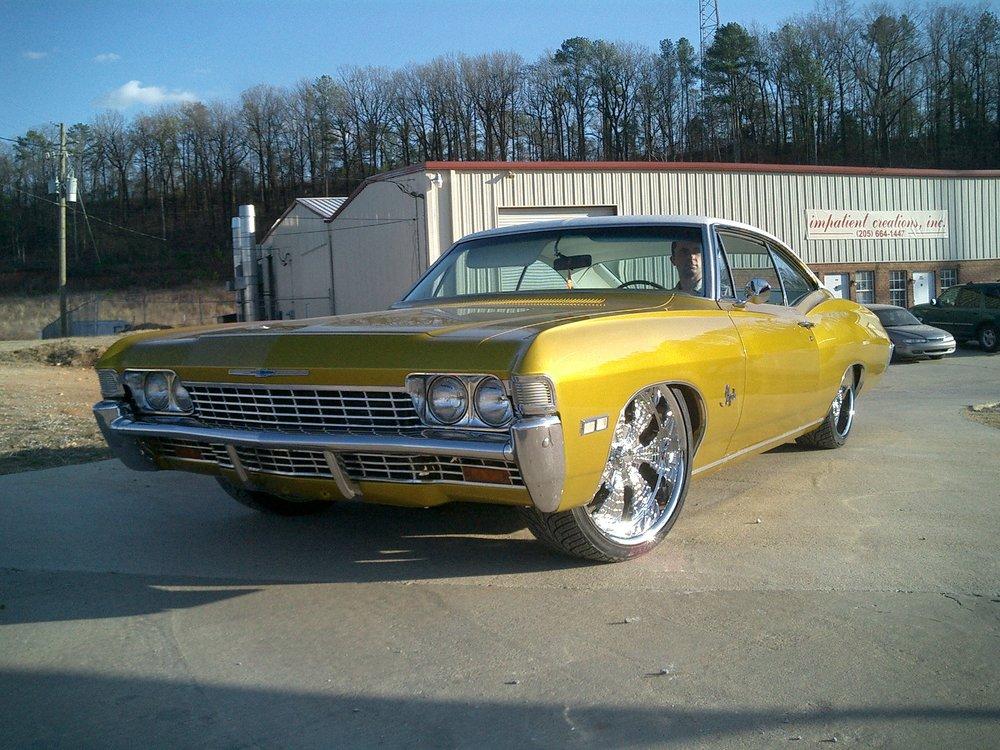 1968 Impala Gold -