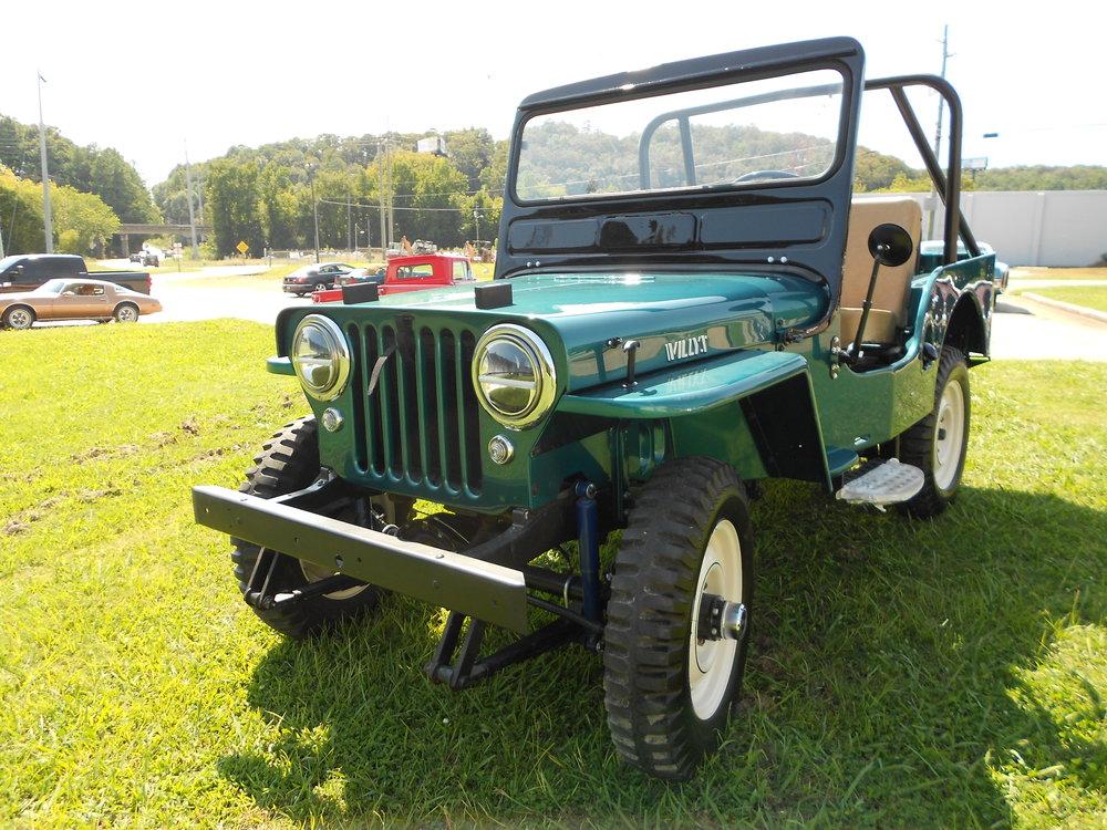 1952 Willys Jeep CJ3A -