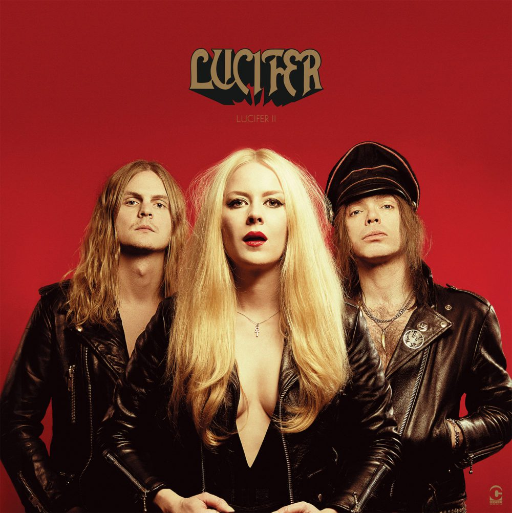 Lucifer II by Lucifer -  Gotta start this one by sayin' , I'm a complete sucker for female fronted rock music.. especially heavy metal music. Especially when its actually GOOD heavy metal music. And even especially more when its actually good 70's inspired doom-rock variety of heavy metal music. Therefore, that bias and predisposition may definitely factor into this review. Just a fair warning. But, all that aside, this is still one HELL (see what I did, there?) of a phenomenal rock n roll record. Having been a huge fan of Lucifer since their self-titled 2015 debut, I was really eager to listen to their follow-up, aptly titled Lucifer II; and I was the farthest thing from disappointed. I was actually nervous that they couldn't top their epic, atmospheric, doom and blues, rock record. But they didn't just top it, for my money, they blew it out of the water like a hellfire-spewing ancient volcano. Lucifer II sees itself recorded with a different lineup sans lead singer and mastermind Johanna Sadonis, Berlin-born and christian-raised turned occult and heavy metal fanatic, and it really shows. The addition of Nicke Andersson, heavy metal powerhouse and ex-drummer of the Almighty left-had path demonic metalers, Entombed, and shortly front project Helacopters; and 6-string sorcerer Robin Tidebrink; really shows the band pushing in a more rock n roll direction. The inclusion of these members and elements actually make Sadonis' voice shine though more than the last record, which is interesting because there is more noticeably going on in the mix the second time around. Whereas Lucifer's first record was much more atmospheric, slow, and sludgy; this is much more amped up. It's in your face rock n roll. If I could appropriately compare their first record to Sabbath's first record, Lucifer II would be running with the devil towards Master of Reality territory. It's a lot more turned up, tightens up, sharp, and strong. There seems like there is infinitely more range and force t