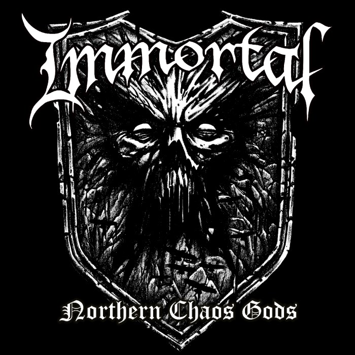 Northern Chaos Gods by Immortal -  Alas, the frostbitten blizzard demons have risen from the ice-encapsulated tundras of Hell, it seems. After a long hiatus, a departure from their lead singer and songwriter, and many odds stacked against them; Immortal prove to be just that…. Immortal. Their first album in about a decade has been unleashed upon the mere mortal ears of us all, and it just so happens to be their best one in perhaps two decades, if not the best black metal release in the last decade, period. Setting the bar pretty high with that intro, let me do my best to try explain and decode this unholy war cry crafted by the devils of winter themselves. First, if I may, a brief recapping of the events in camp Immortal: Abbath, the legendary figurehead of Immortal, is, for one reason or another, no more. His left hand, Demonaz, 6 string battle axe angel slayer, is left to pick up the pieces. Taking the reigns of this rabid pack of winter beasts known only as Immortal. Abbath has since released two solo records that were actually pretty cool, no winter pun intended this time. Demonaz, on the other hand, had released a couple of relatively dull solo records; in my opinion. The last Immortal releases before this one, entitled All Shall Fall, in 2009, was more or less fair. Far from exceptional but far from terrible, either. Naturally, this led many (myself included) to skepticism upon hearing of Northern Chaos Gods, the first Immortal album without Abbath, and Demonaz returning. As if I didn't already make this clear, my skepticism was pretty much shattered upon hearing the first 20 seconds of the record. Despite Demonaz's not so impressive and generic solo efforts, this blows everything Abbath has done as a solo artist through the Norwegian forests into the ever black obscurity of nothingness. What I'm trying to say is, yes. Northern Chaos Gods IS that good, despite all of the bands turmoil and skepticism being attached to it. The title track opener and lead single 