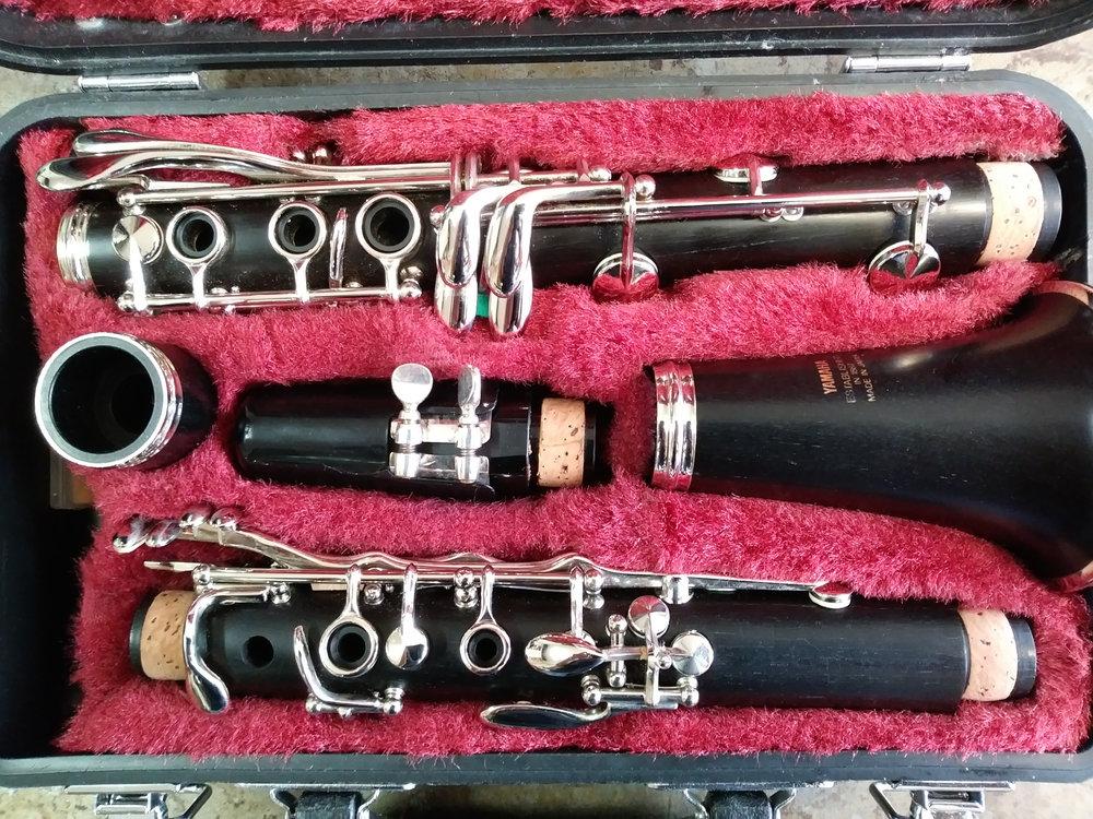 Yamaha clarinet for sale