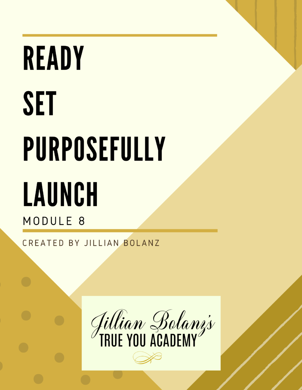 Let's do it... let's launch your product/service/business... and here's how! Here you will learn about list development, how to get the word out, and how to create offers that your ideal client needs This will take you from having the ideas to FINALLY having the BUSINESS!