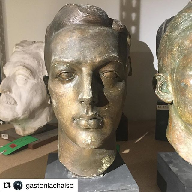 Repost from @gastonlachaise - See original post caption from the Lachaise Foundation in the comment below.