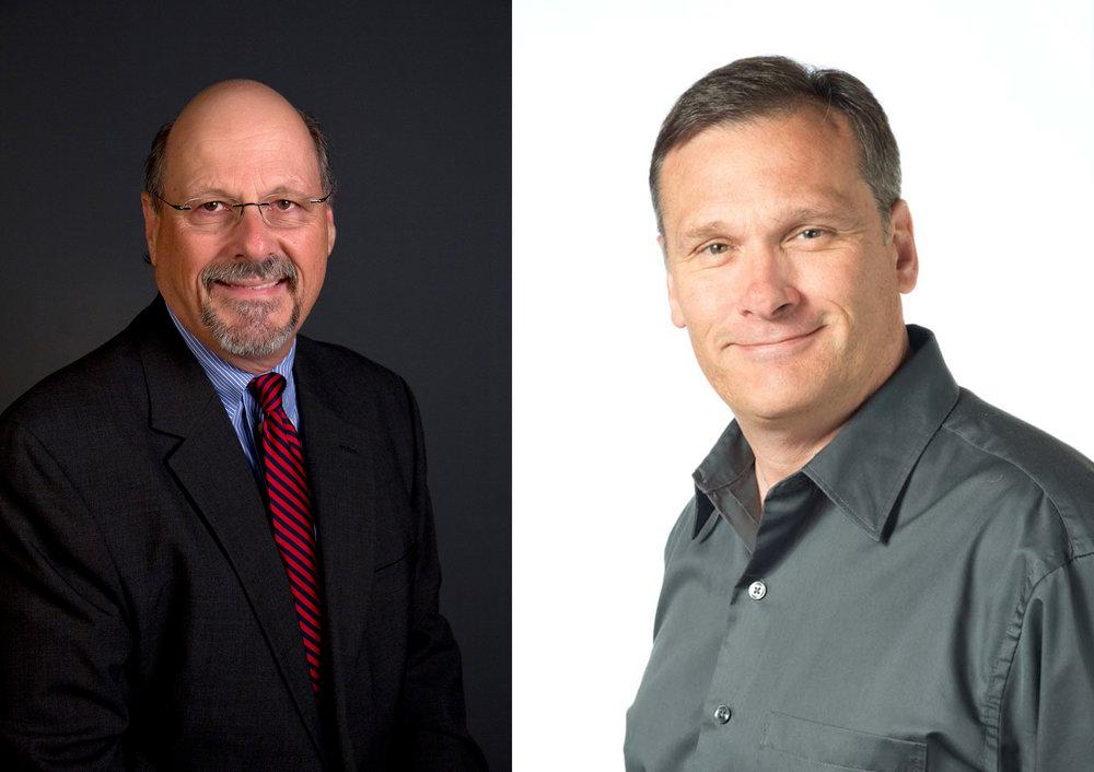 George Stanziale (L) and Walt Havener (R)