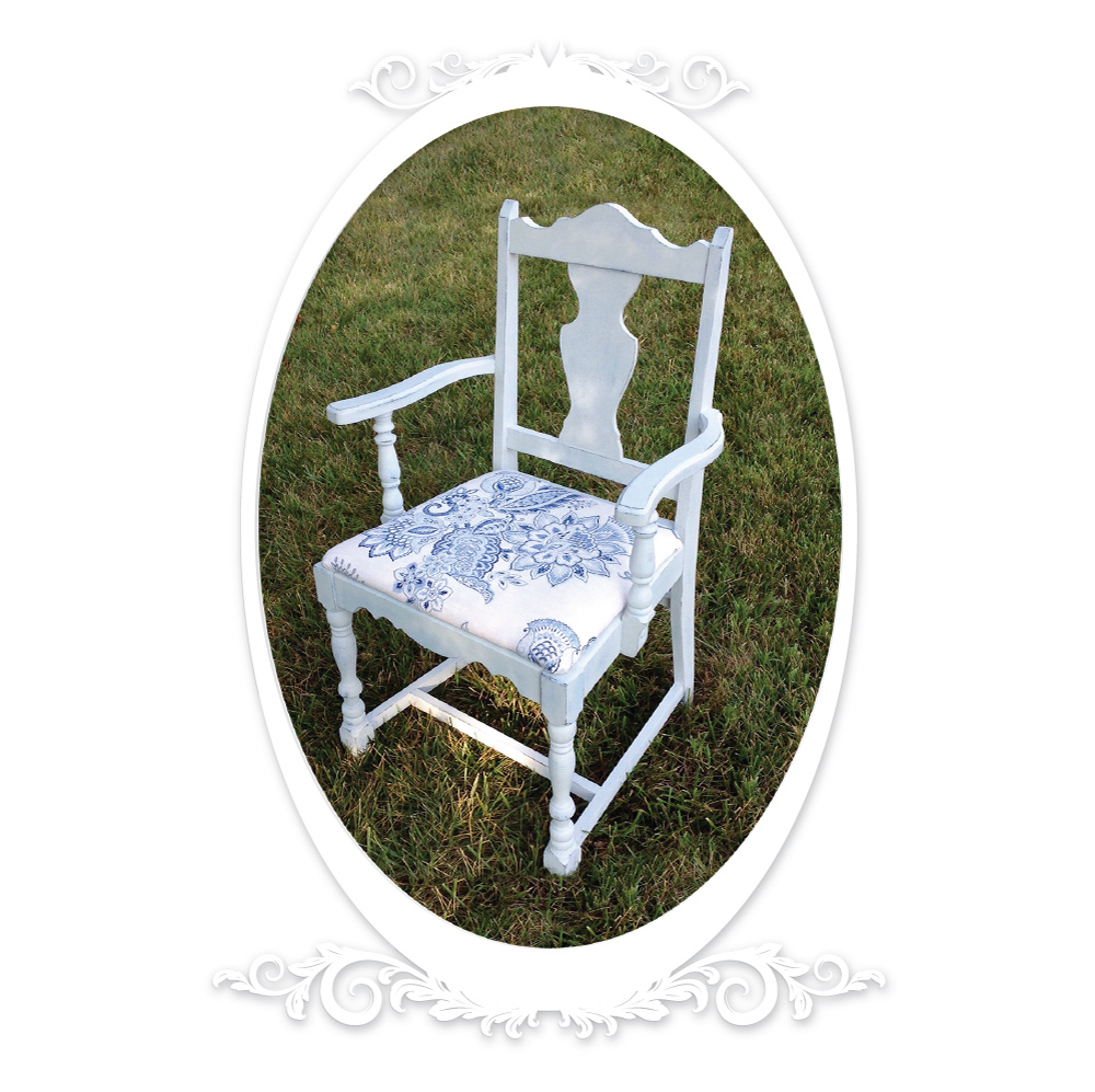 Antique Chair Revived -