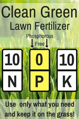 Clean Green Lawn Fertilizer N P K