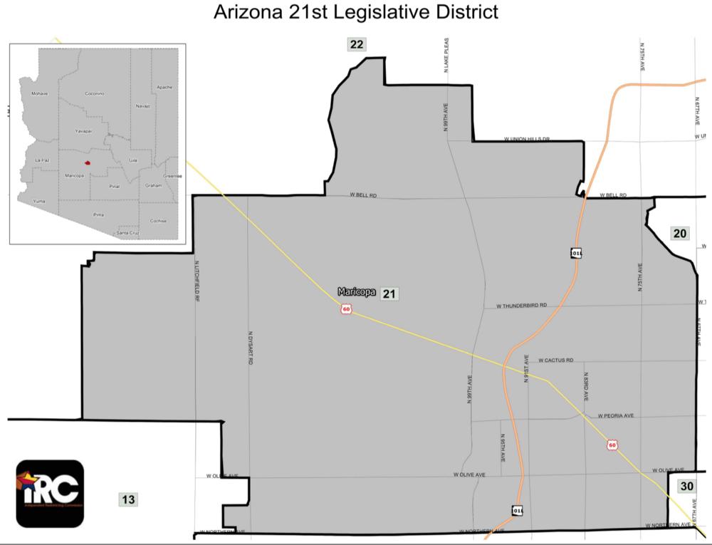 *https://www.azleg.gov/images/LegislativeDistrictMaps/LegislativeDistrict21.pdf