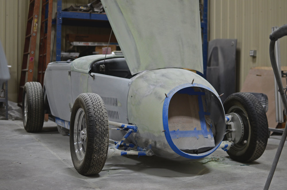 """For us, we love traditional Hot Rods and just like them, we made a project car in our own image.""       -pierce boys   -"