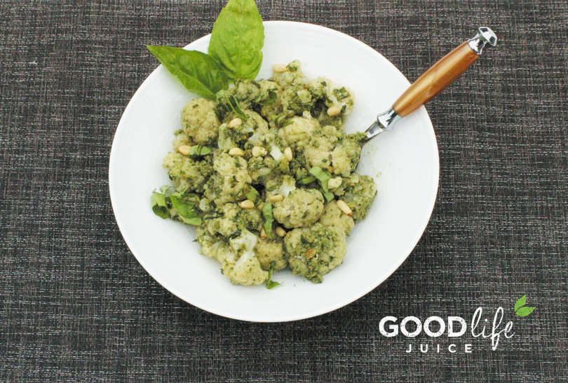 cauliflower gnocchi - perfect pre - Juice Cleanse meal