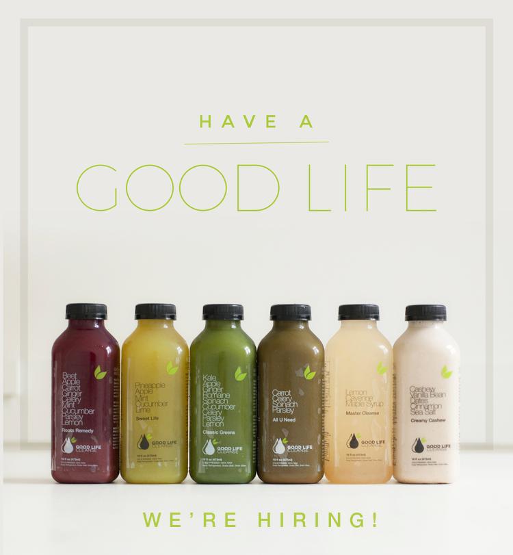 Good Life Juice Job Posting