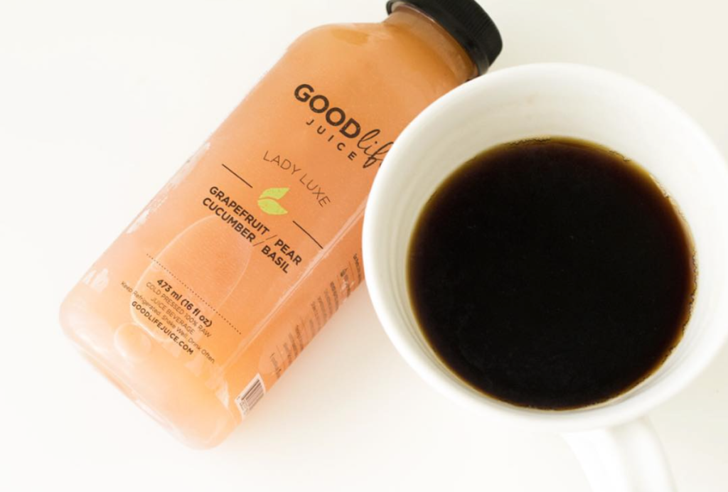 coffee and juice cleanse