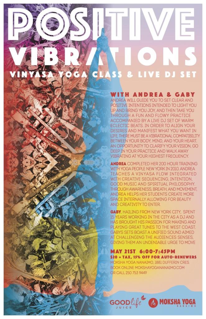 Vinyasa Yoga + Live DJ