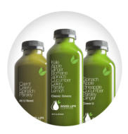 pack of green juice