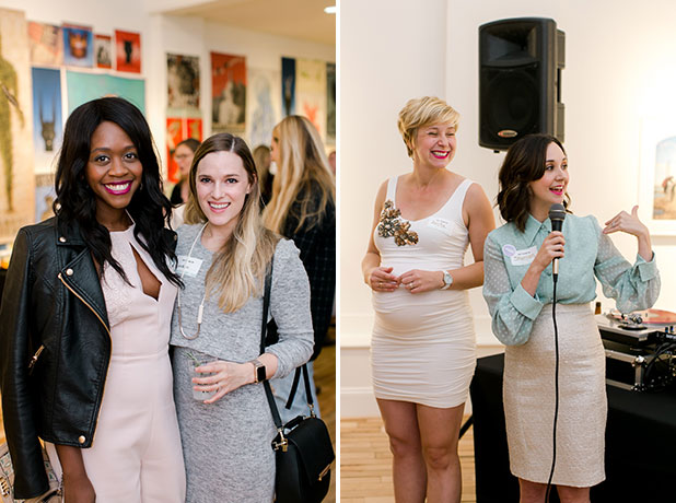 gallery hosted welcome party for conference in richmond, virginia