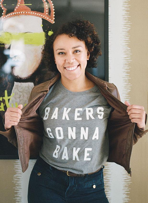 Bakers Gonna Bake shirt, so cute! - Sarah Der