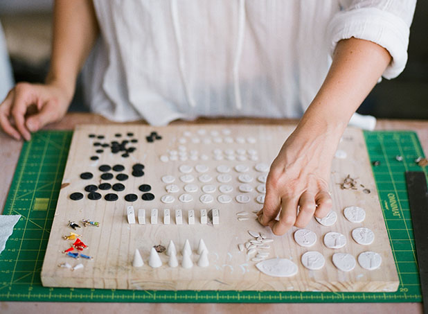 handmade porcelain jewelry - Sarah Der