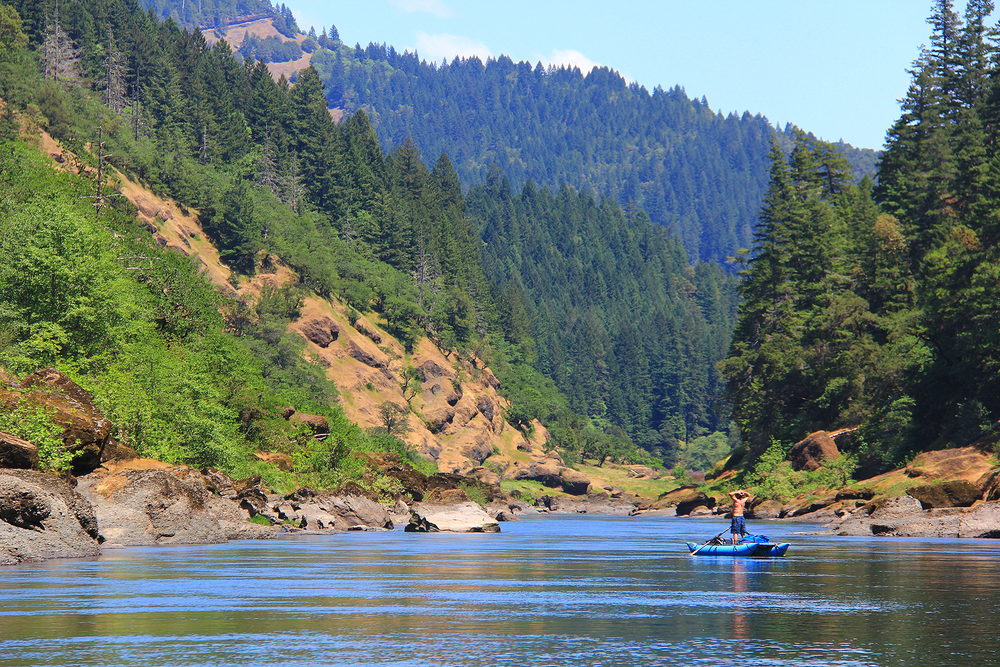 Taking it all in on the Wild & Scenic Rogue River. Photo by Emily Berlant