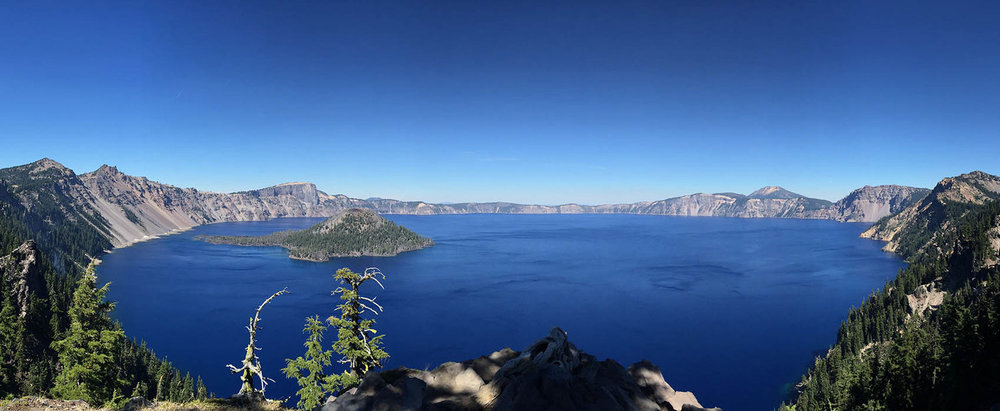 Most of the water in Crater Lake comes directly as rainfall or snow melt. The deepest lake in the United States would lose protections under the Clean Water Act with the Trump administration's proposal.