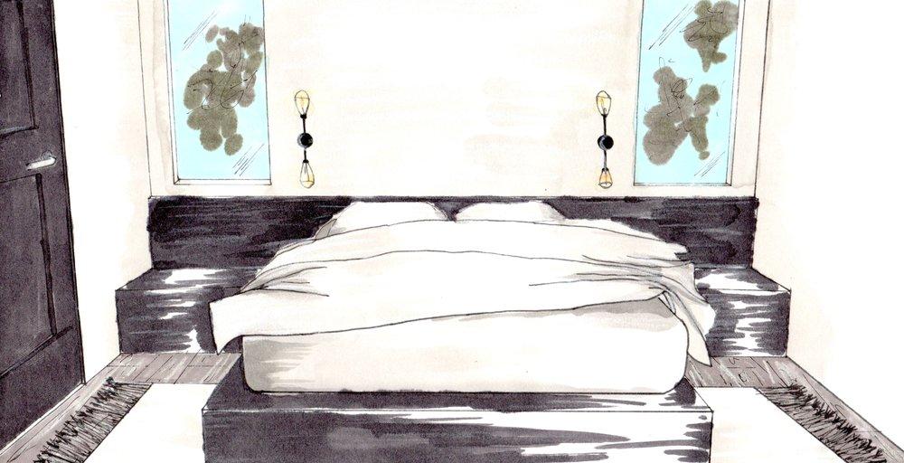 Master Bedroom perspective