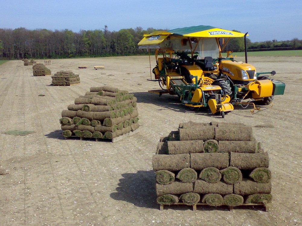 Kesmac Turf Harvester