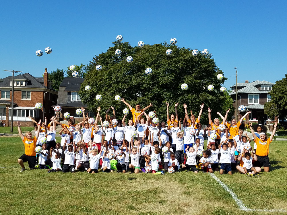 ON GOAL SOCCER CAMP -