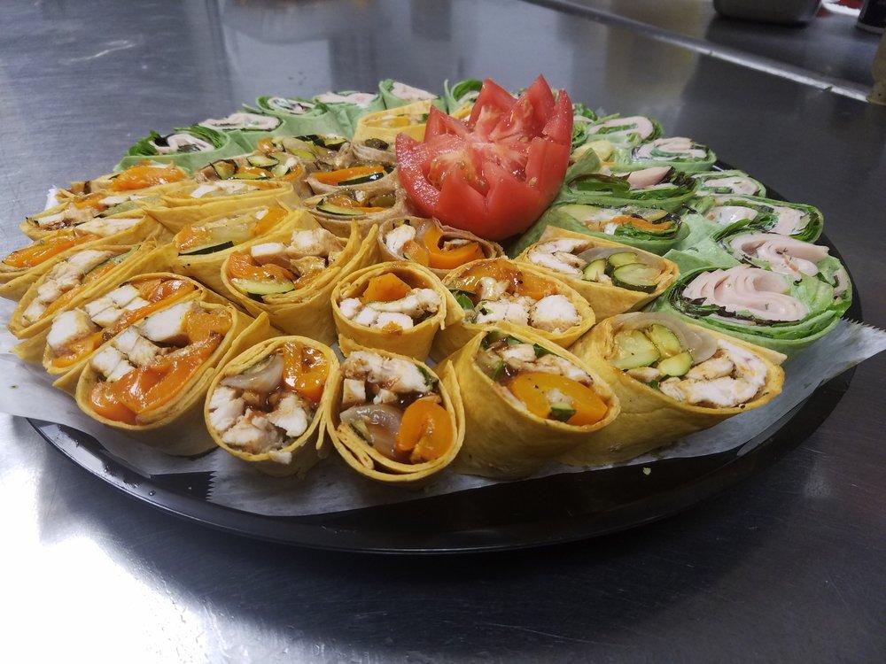 Wrap Platters$11.95 Per Person -