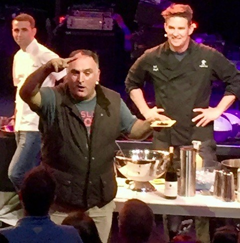 JOSE ANDRES AT 2016 EVENT AT SLS. PHOTO: NORM CLARKE