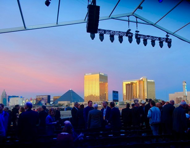 NFL COMMISSIONER ROGER GOODELL CALLED LAS VEGAS 'A CITY ON THE RISE.' (PHOTO: NORM CLARKE