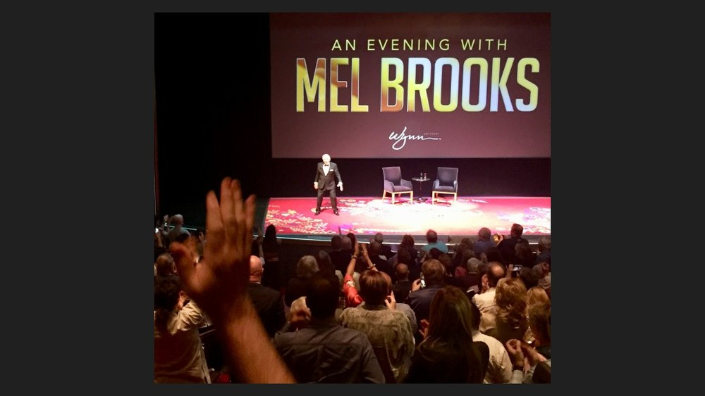 MEL BROOKS BROUGHT DOWN THE HOUSE. Photo: Cara Clarke