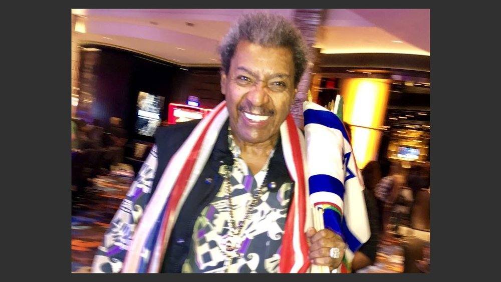 Legendary boxing promoter Don King at the Palms Hotel Casino on Thursday for the unveiling of the first phase of the $620 makeover of restaurants and nightclubs. Photo: Norm Clarke