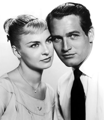 Paul Newman and Joanne Woodward -Wikimedia Commons