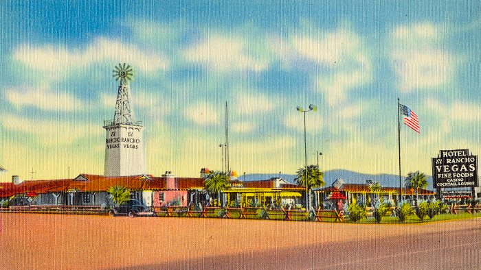 El Rancho Vegas Hotel  Wikimedia Commons