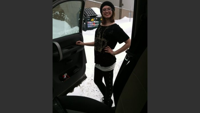 Brooke McPheters on her 15th birthday, April 1, 2013, in Anchorage, Alaska. She was killed by a drunk driver August 9, 2013. Photo: Courtesy